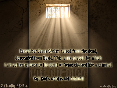 God's Word is Not Chained