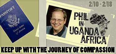 Phil's Uganda Passport is Punched!