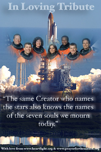 Space Shuttle Columbia Crew - Prayer for the Nation